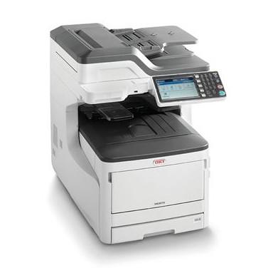 Impressora OKI Multifunções LED MC873DN - Cor/Mono