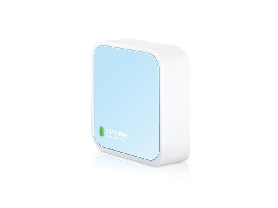 Mini Pocket AP Router TP-LINK Wireless N, 300Mbps, 1X10/100, 1xMicroUSB - TL-WR802N