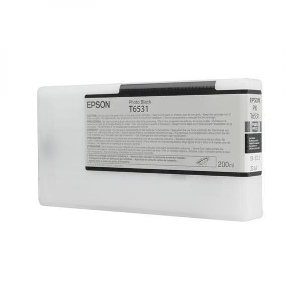 Tinteiro EPSON T6531 Preto Foto 200ml - Stylus Pro 4900 Serie