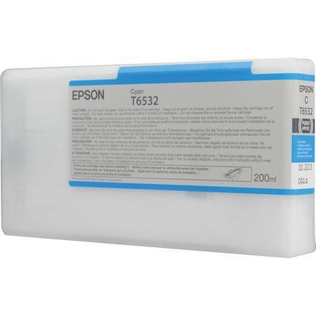 Tinteiro EPSON T6532 Ciano 200ml - Stylus Pro 4900 Serie
