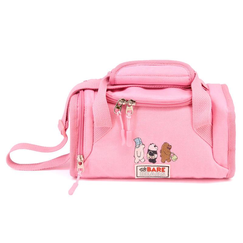 Lancheira We Bare Bears rosa
