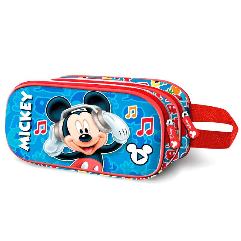 Estojo 3D Mickey Music Disney duplo