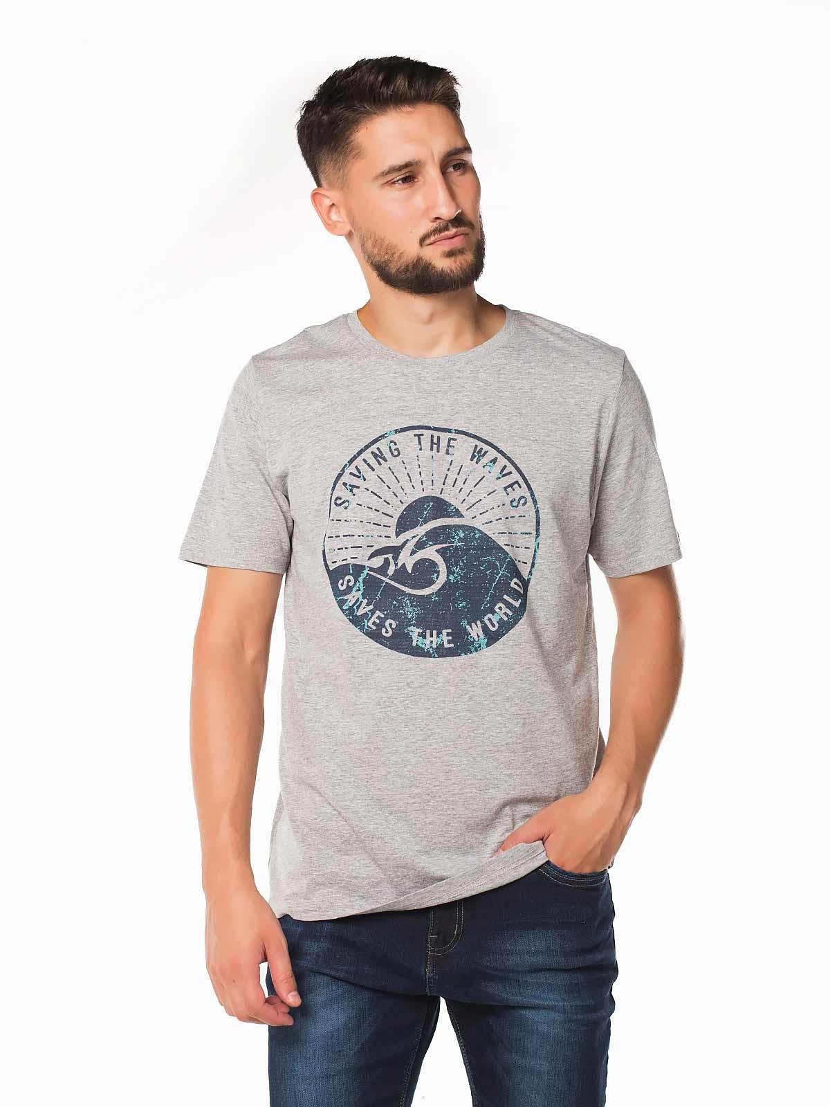 Camiseta hombre manga corta Waves