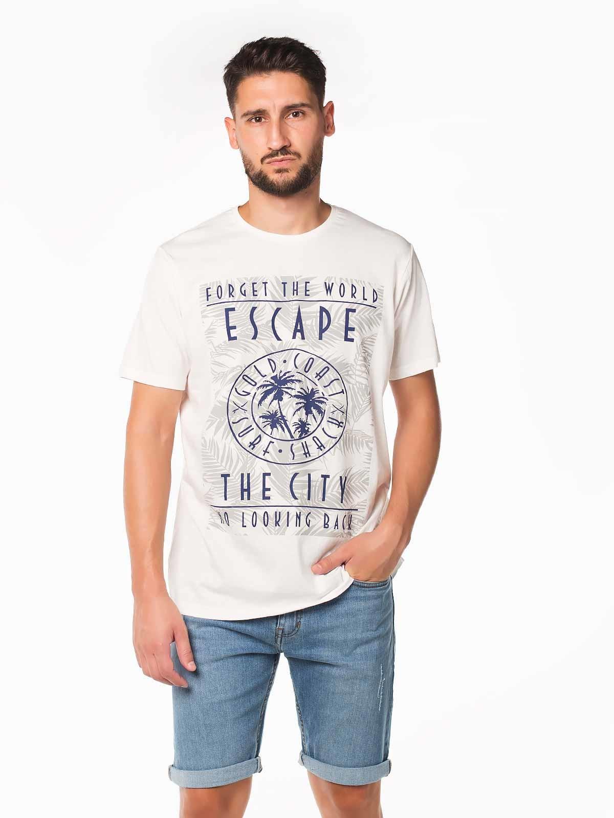 Camiseta manga corta Escape