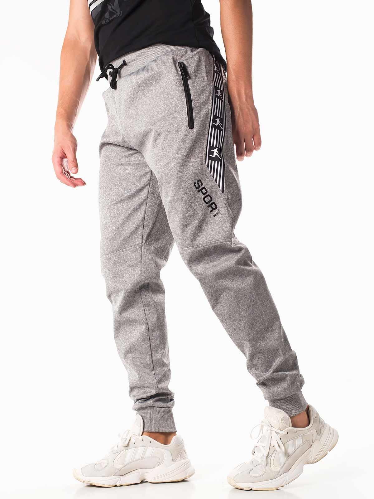 Pantalones deportivos hombre ajustados
