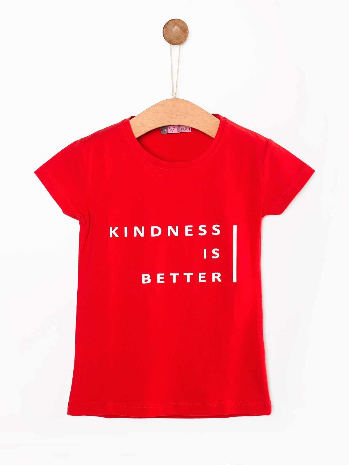 T-shirt estampada Kindness