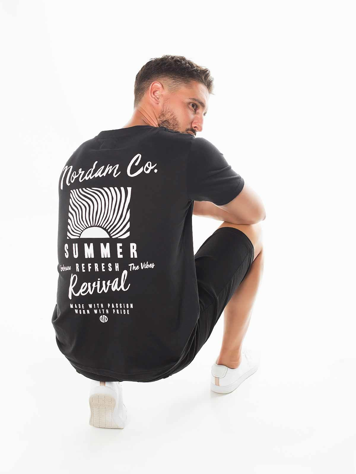 T-shirt estampada Nordam Co.