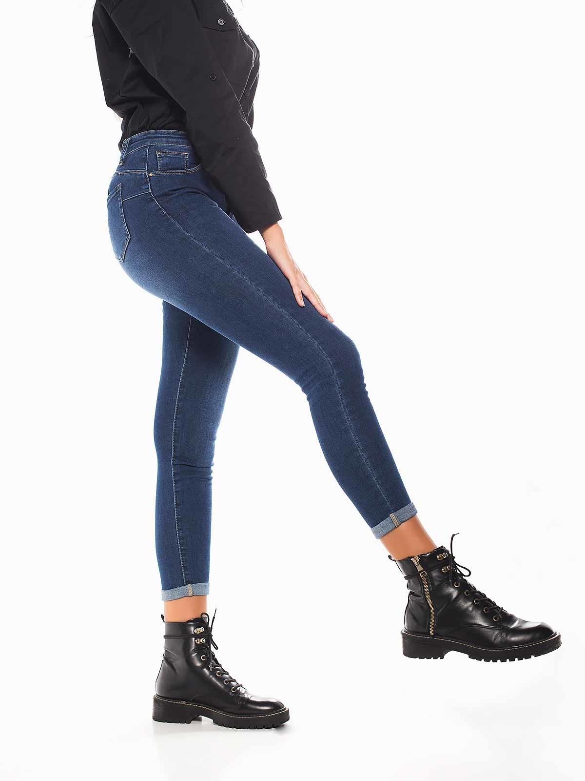 Calças ganga push up skinny jeans