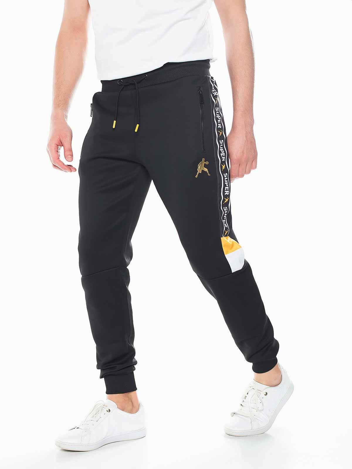 Pantalón de chándal rayas de colores