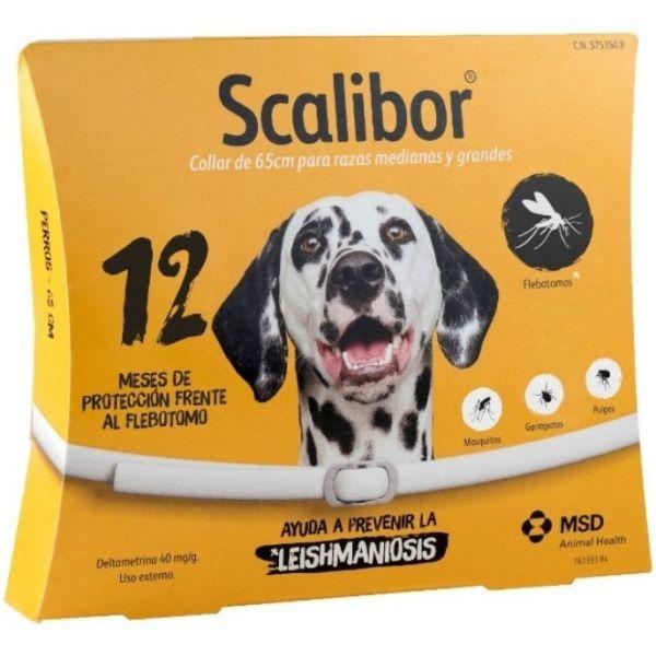 Marca do fabricante - Scalibor Coleira Antiparasitária 65cm