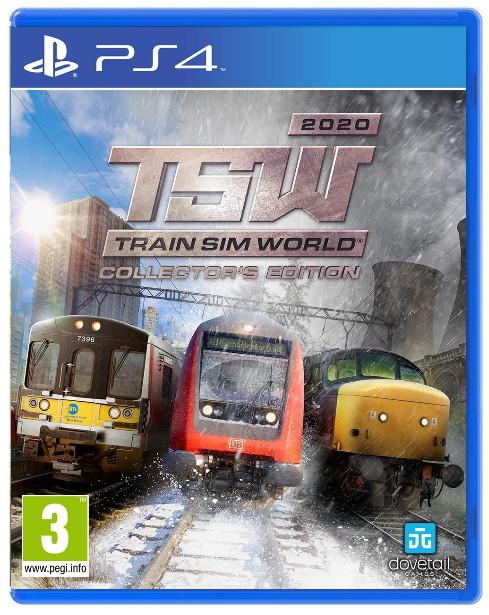Não Indentificado - Train Sim World 2020 - Collectors Edition - PS4